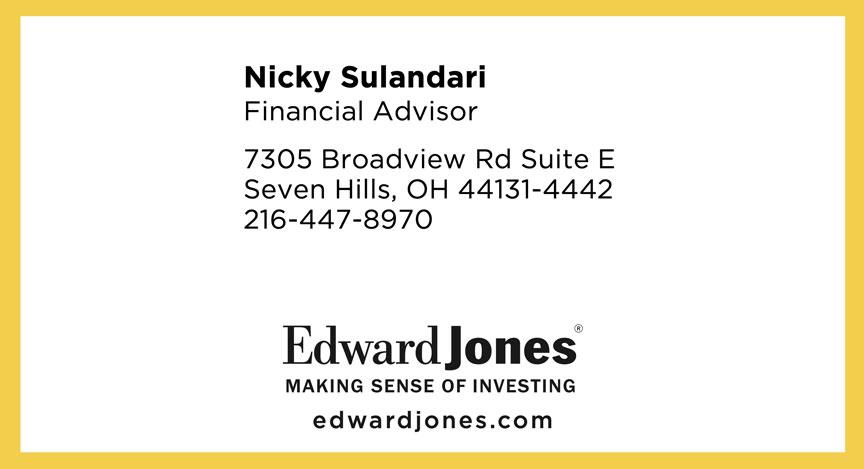 Nicky Sulandari with Edward Jones