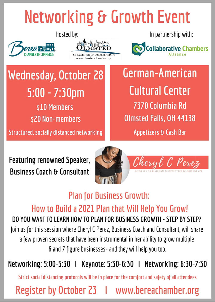 Join us for this session where Cheryl C Perez, Business Coach and Consultant, will share a few proven secrets that have been instrumental in her ability to grow multiple 6 and 7 figure businesses - and they will help you too.